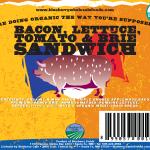 Bacon, Lettuce, Tomato & Brie Sandwich