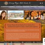 Proposed website design for the Drury Hotel Santa Fe