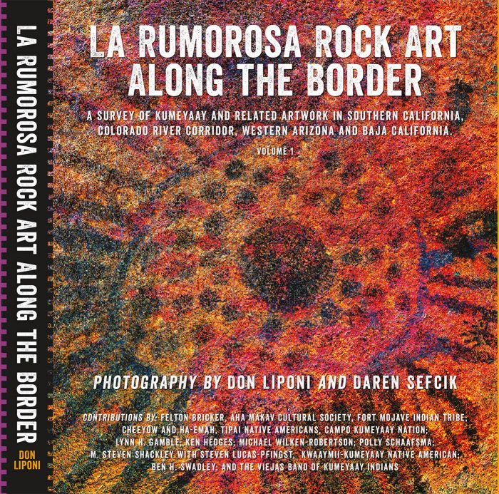 La Rumorosa Rock Art Along the Border book cover