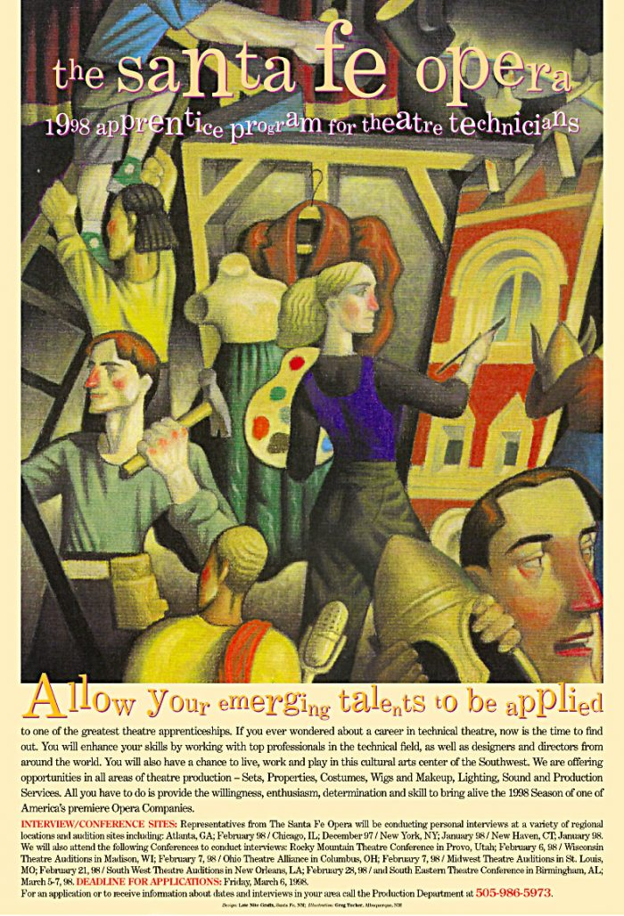 Allow Your Emerging Talents to be Applied poster